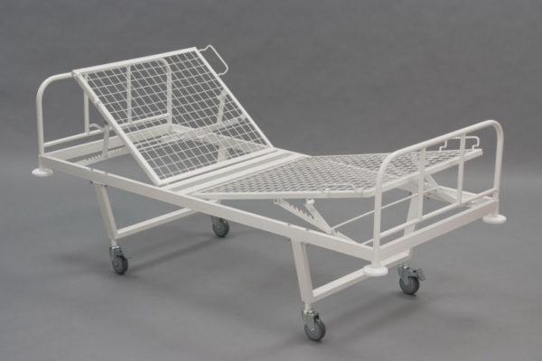 Кровать 2-х секционная механическая (от 11 руб/сут)