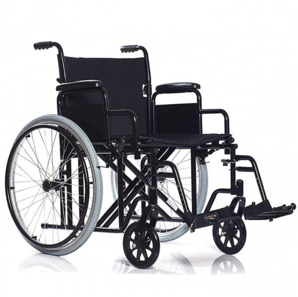 Инвалидное кресло Ortonica BASE 125  складное (от 14 руб/сут)