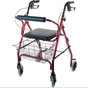Ходунки- роллаторы с 4-мя колесами, тормозами и сиденьем (от 6 руб/сут)