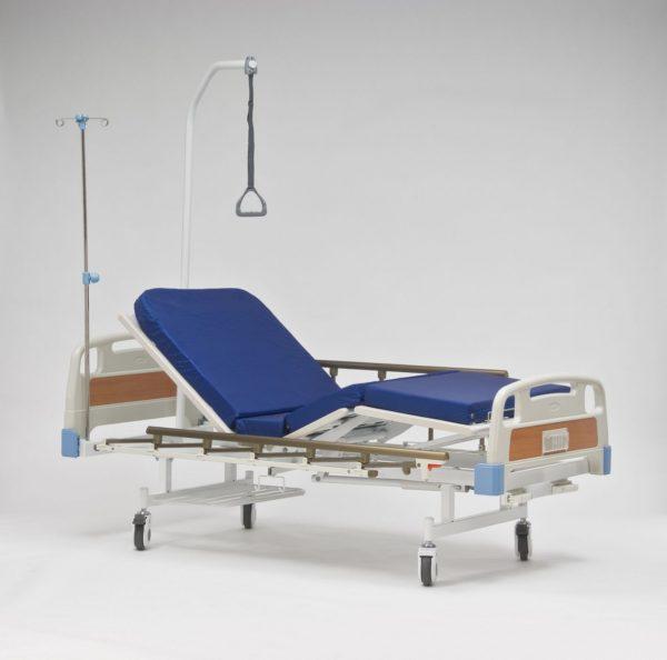 Кровать 4-х секционная механическая (от 13 руб/сут)