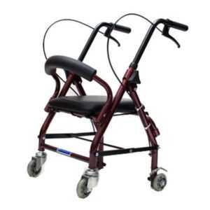 Ходунки-роллаторы ДЕТСКИЕ с 4-мя колесами, тормозами и сиденьем (от 6 руб/сут)