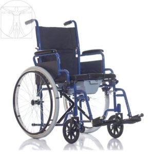 Инвалидное кресло-стул с санитарным оснащением TU 55 20UU (от 10 руб/сут)