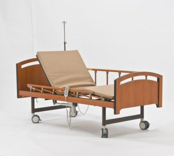 Кровать 3-секционная YG-3 с электроприводом и туалетом (От 58 Руб/Сут)