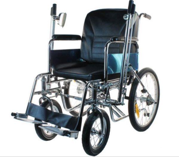 Инвалидное кресло складное самоходное с рычагами (от 28 руб/сут)