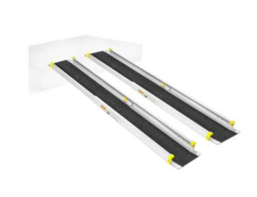 Мобильный пандус телескпический 2-х секционный 1,5м, МЕГА 2ПТ1-150