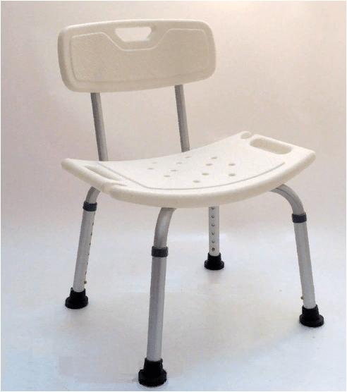 Стул в ванну (сиденье) для инвалидов и пожилых людей 100 кг Мега-Оптим KJT501